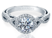 INSIGNIA-7070R - a Verragio engagement ring.