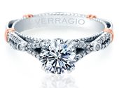 PARISIAN-102 - a Verragio engagement ring.