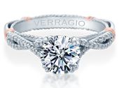PARISIAN-105 - a Verragio engagement ring.