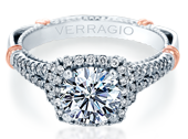 PARISIAN-117CU - a Verragio engagement ring.