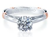 PARISIAN-120 - a Verragio engagement ring.