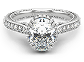 INSIGNIA-7102OV - a Verragio engagement ring.