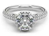 INSIGNIA-7104TR - a Verragio engagement ring.