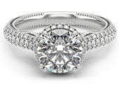 INSIGNIA-7105R - a Verragio engagement ring.