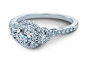 INSIGNIA-7049D - a Verragio engagement ring.