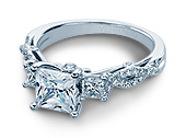 INSIGNIA-7055P - a Verragio engagement ring.
