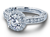 PARADISO-3077R - a Verragio engagement ring.