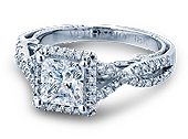 INSIGNIA-7070P - a Verragio engagement ring.