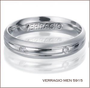 Mens Wedding Ring 5915 from Verragio