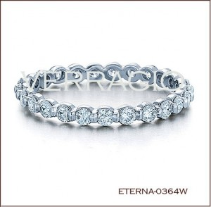 Eterna-0364W Diamond Wedding Ring from Verragio