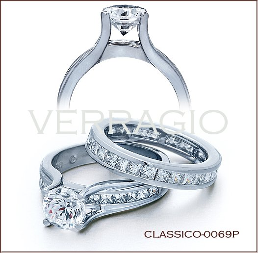 Engagement Rings by Verragio: Classico-0069P