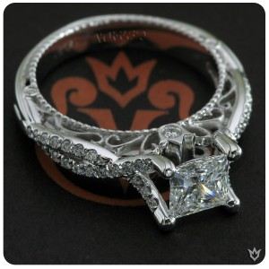 Engagement rings from Verragio; Venetian-5003